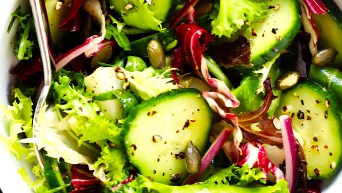 如何做美味的日常配菜沙拉